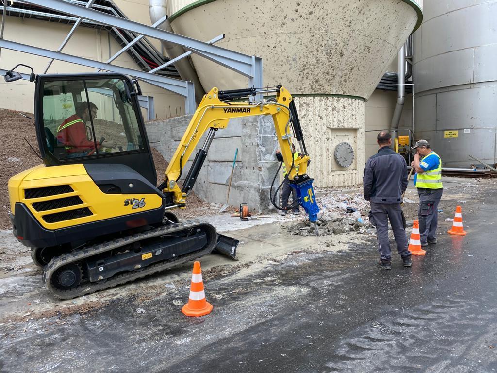Miniexcavator 2.6 t