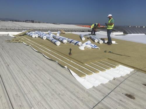 Reabilitare hidraoizolație acoperiș hală (1)