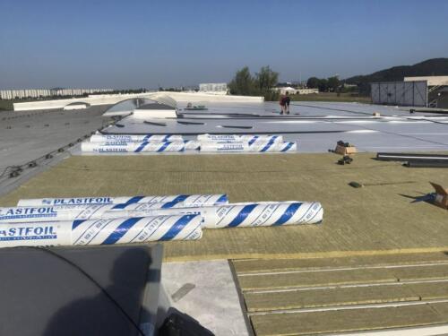 Reabilitare hidraoizolație acoperiș hală (2)